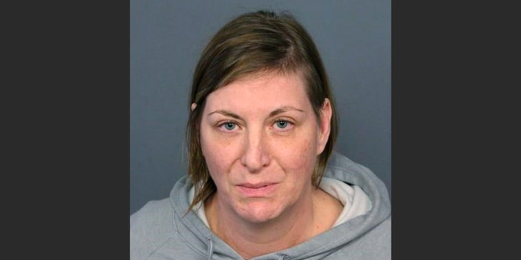 Colorado woman whose dead son was encased in concrete told fellow inmate details, police said