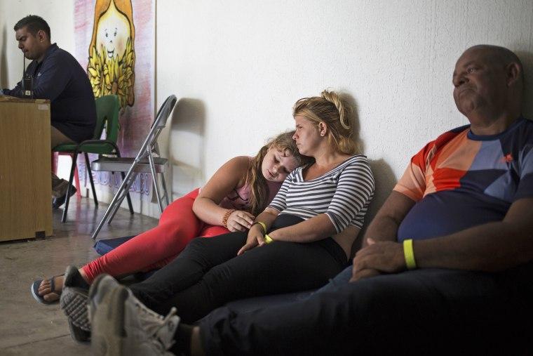 Cuban asylum seekers