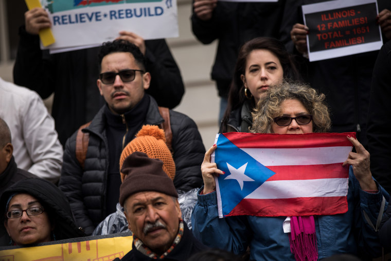 Puerto Rican Families Displaced By Hurricane Maria Facing Hotel Eviction Hold Rally At City Hall