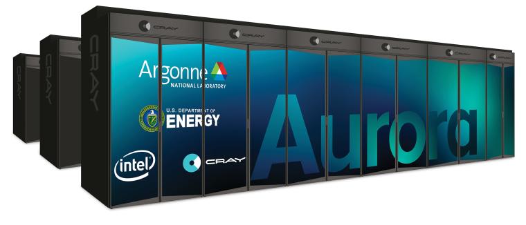 Image: Aurora Super Computer