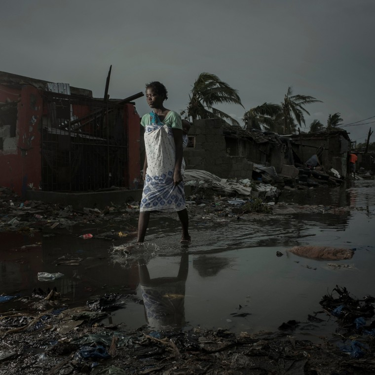 Image: The aftermath of the Cyclone Idai is pictured in Beira