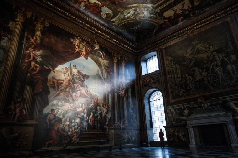 Image: BESTPIX - The Painted Hall, Old Royal Naval College Reopens After Extensive Conservation Project