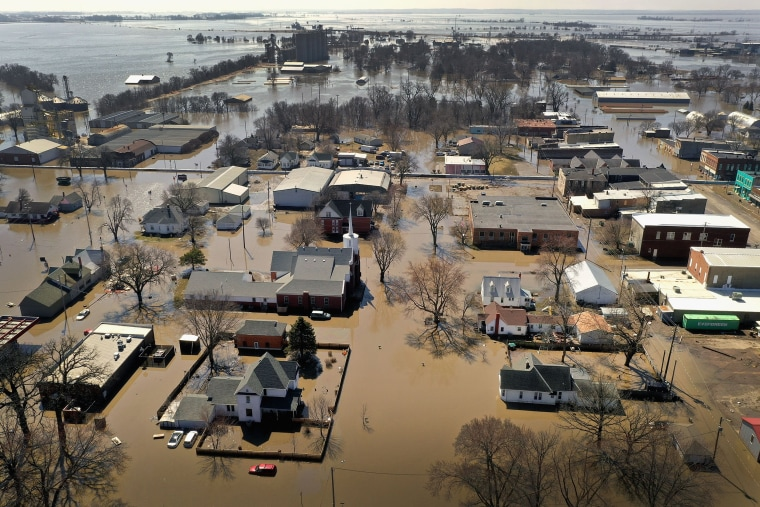 Image: BESTPIX - Flooding Continues To Cause Devastation Across Midwest