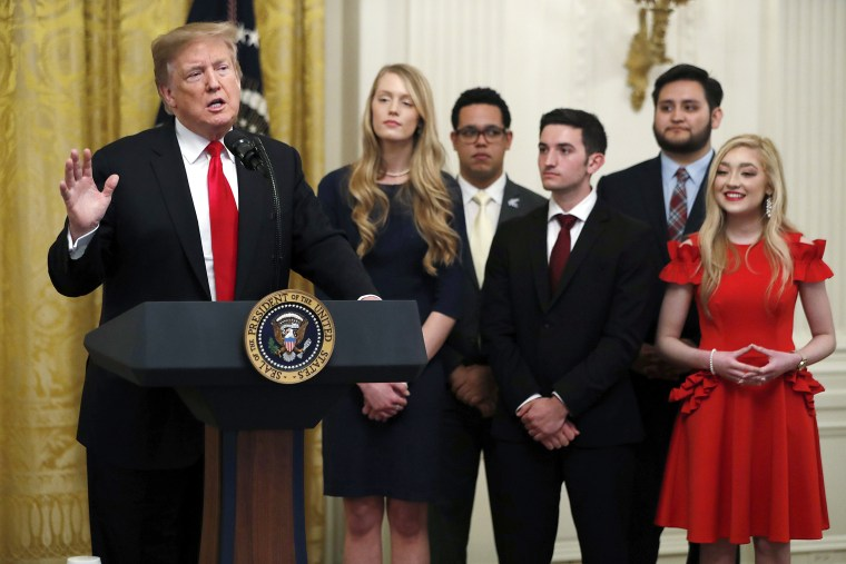 Trump order withholds money from colleges that don't promise to protect free speech
