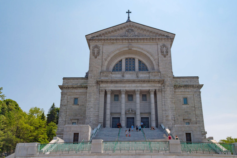 Saint Joseph Oratory Basilica church in Montreal. Building