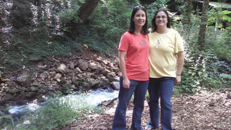 Kristy and Dana Dumont were two of the plaintiffs in a discrimination suit filed by the ACLU against faith-based adoption agencies.