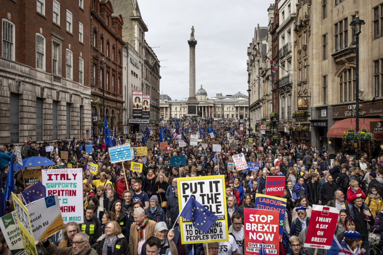 Image: *** BESTPIX *** Put It To The People March Takes Place In Central London