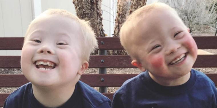 Twin boys with Down syndrome become social media stars