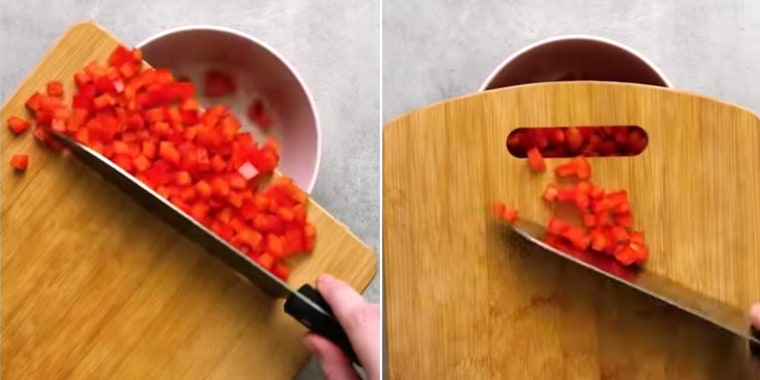 Why this cutting board 'hack' is infuriating home cooks