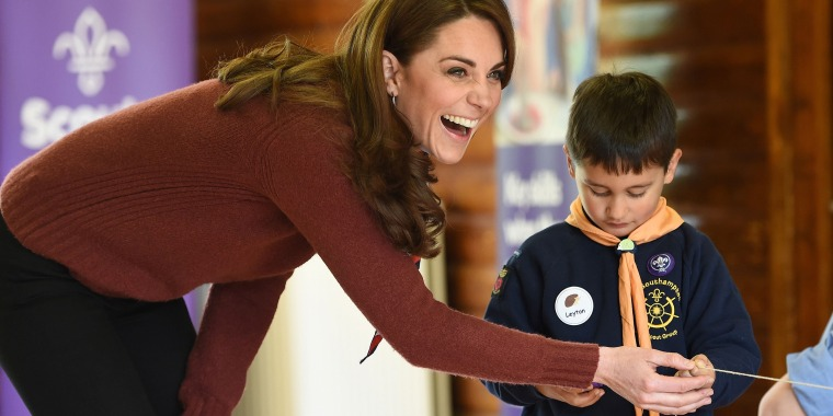 Kate Middleton style, combat boots, Scouts visit, casual outfits