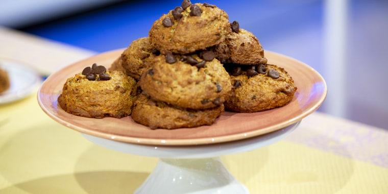 Samah Dada's Banana Bread Muffin Tops + Maple Almond Bites