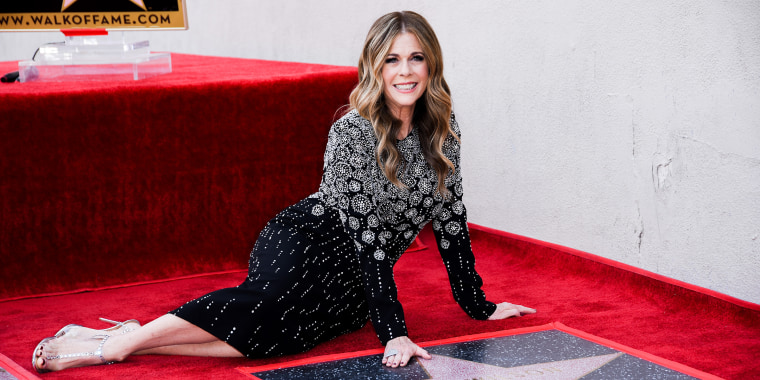 Rita Wilson Honored With Star On The Hollywood Walk Of Fame