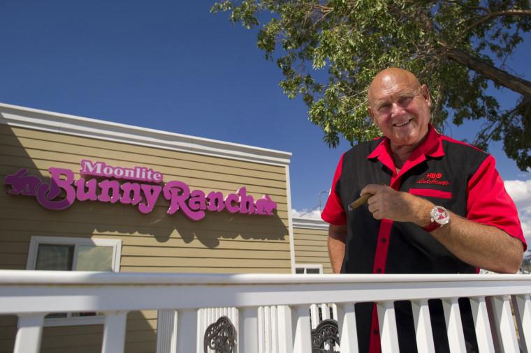 Dennis Hof, owner of the Moonlight Bunny Ranch