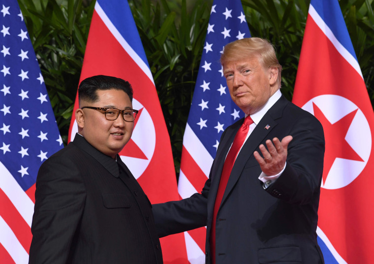 Image: North Korean leader Kim Jong Un and U.S. President Donald Trump