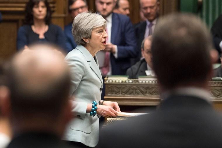 Image: Theresa May, BRITAIN-EU-POLITICS-BREXIT