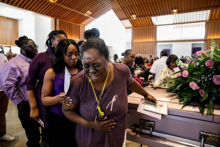 Image: Trinity Love Jones funeral