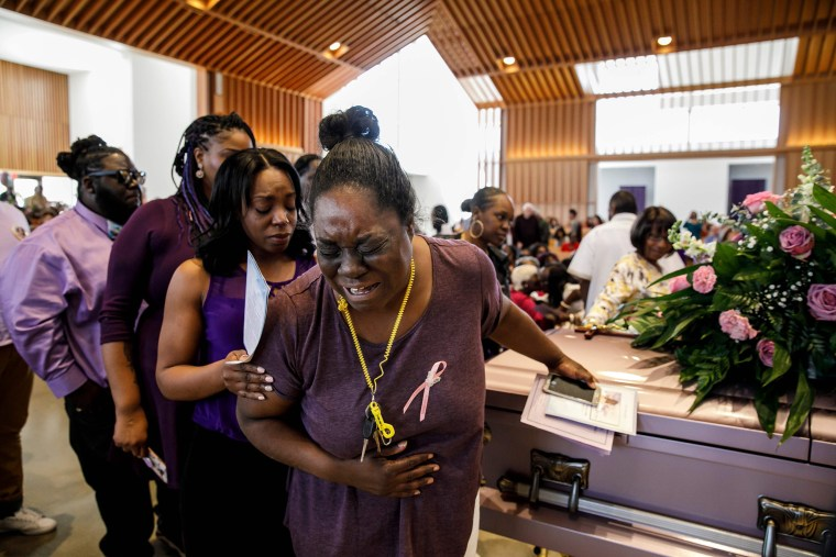 Image: Trinity Love Jones funeral
