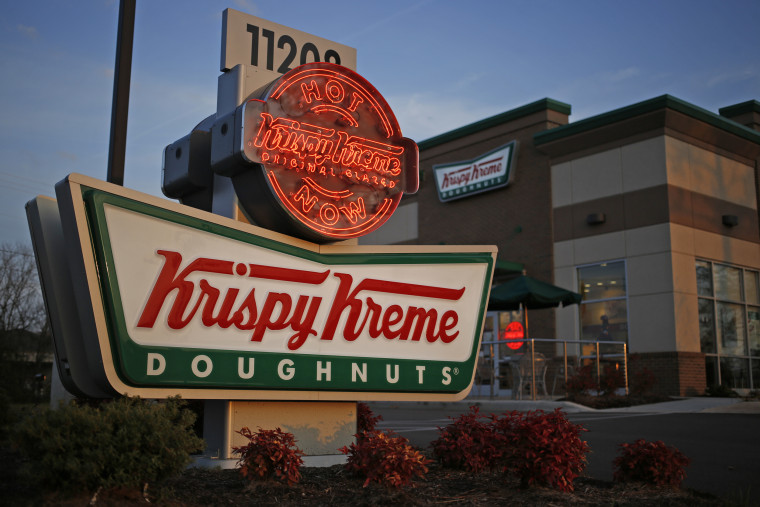 Operations At A Krispy Kreme Doughnuts Location As Company Plans Expansion