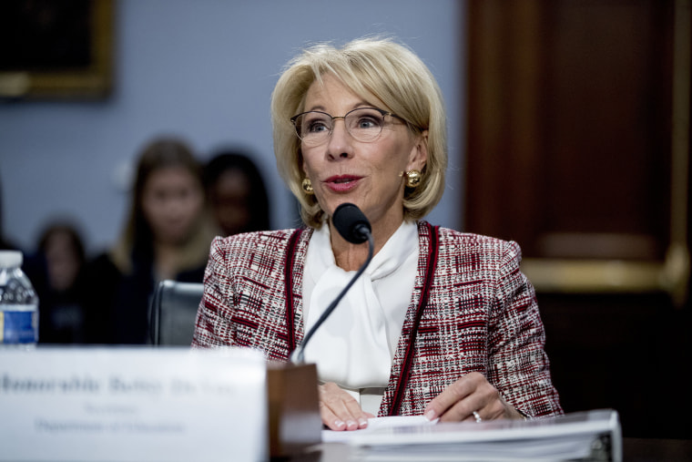 DeVos used personal emails for work in 'limited' cases, report finds