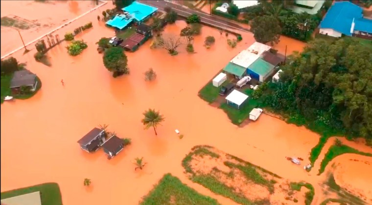 One year after historic floods, Kauai residents cautiously