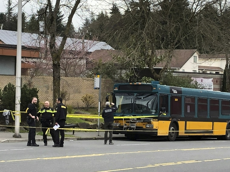 Image: Bus SHooting, Seattle