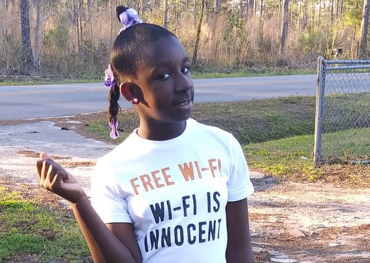 Image: RaNiya Wright, 10, died after an altercation at her South Carolina school on March 27, 2019.