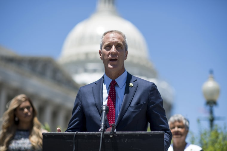 Image: Rep. Sean Patrick Maloney, D-N.Y., speaks during a news conference at the Capitol on June 9, 2016.