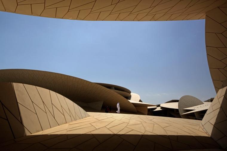 Image: TOPSHOT-QATAR-CULTURE-MUSEUM