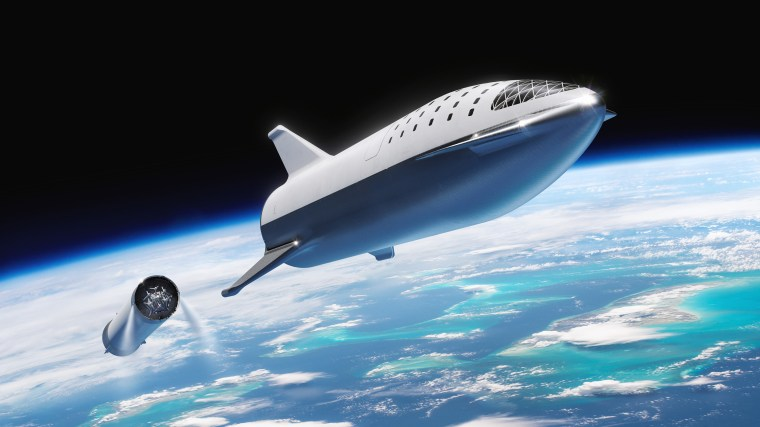 SpaceX is planning to test a mini prototype of its 100-passenger Starship, which the company is developing to carry people to and from Mars.