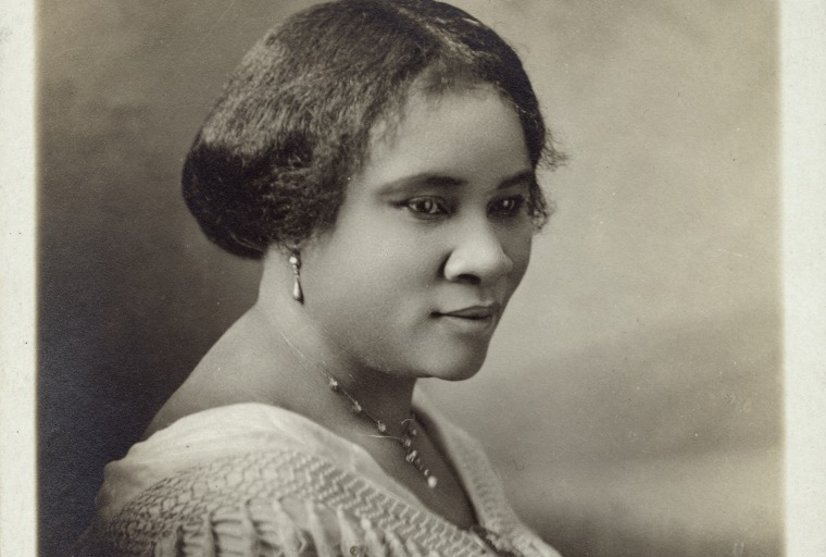 Photograph of Madam C.J. Walker