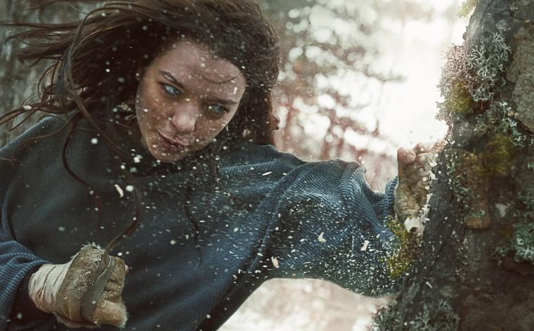 "Esme Creed-Miles in the Amazon Studios series ""Hanna."""