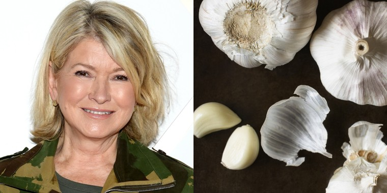 Peel garlic in less than 10 seconds with Martha Stewart's easy hack