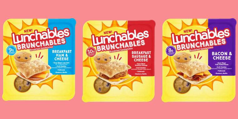 Lunchables Is Releasing 3 Brunchables Breakfast Meal Kits