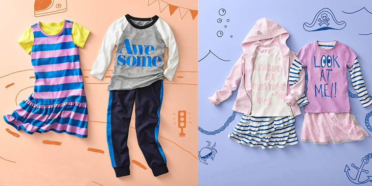 20cc0054 Clothes for boys and girls from Amazon's new like, LOOK by crewcuts, run $14