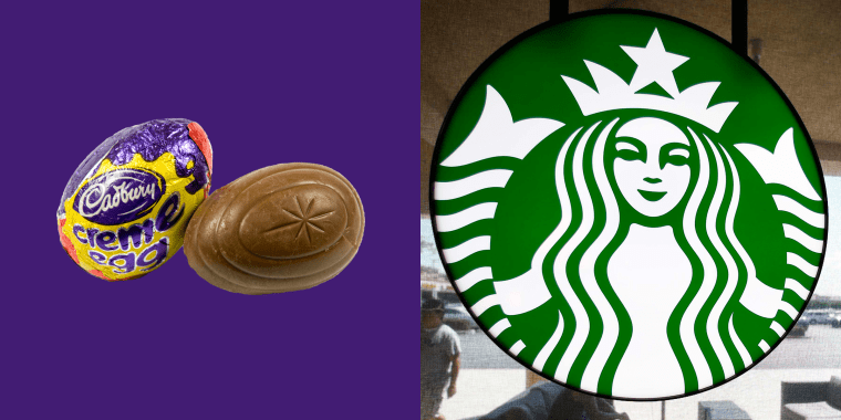 Cadbury Creme Egg Frapp at Starbucks
