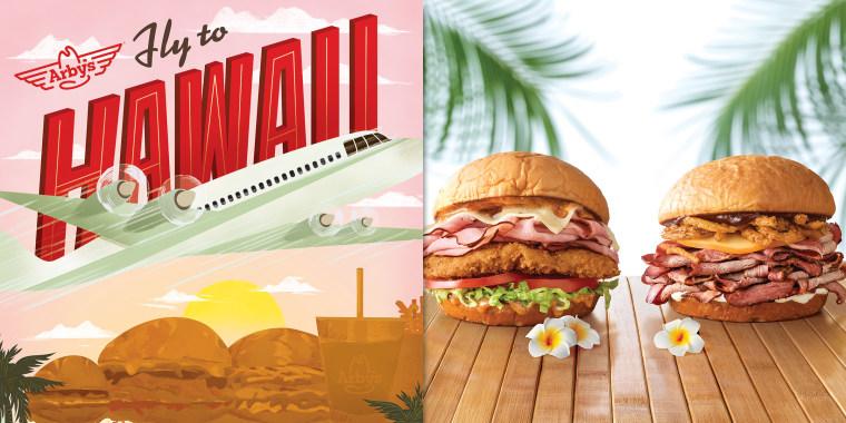 Arby's Hawaiian contest