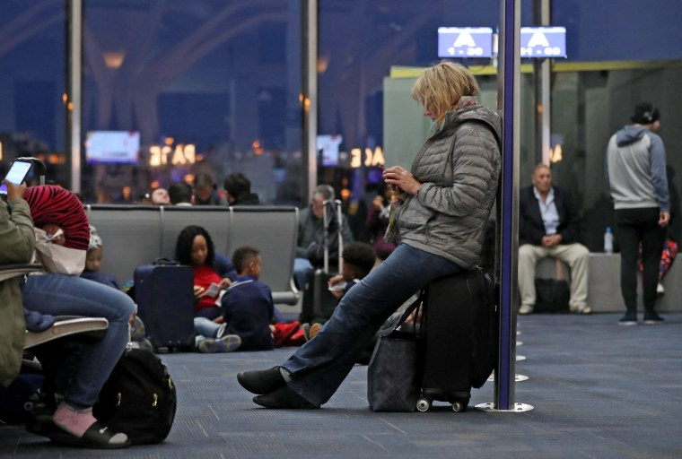 Image: Southwest flights delayed nationally