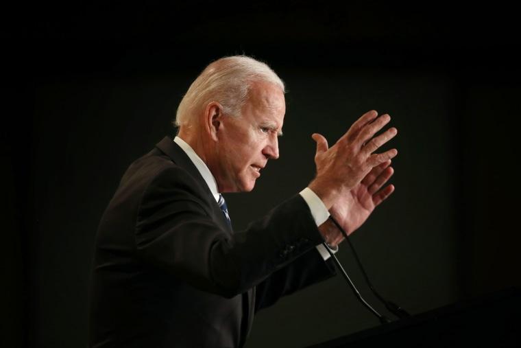Image: Former VP Joe Biden Addresses Int'l Association Of Fire Fighters Conference
