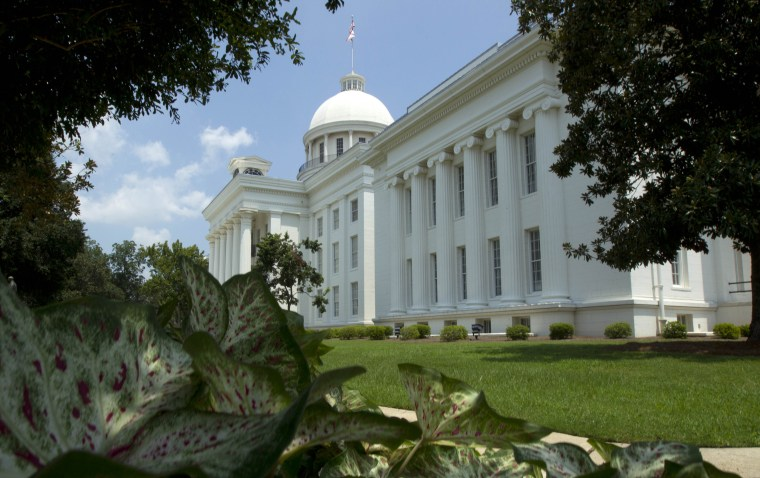Image: The Alabama Capitol in Montgomery in 2011.