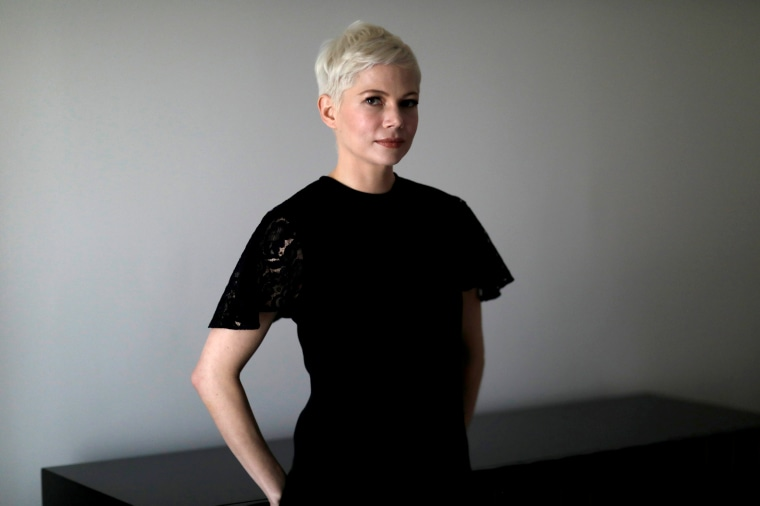 Image: Michelle Williams poses for a portrait in Los Angeles on Dec. 16, 2017.