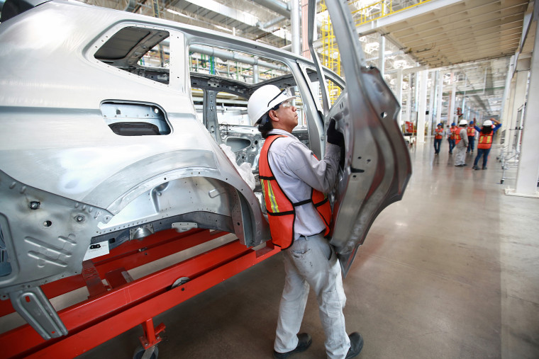 Tiguan Production At The New Volkswagen AG Manufacturing Facility In Mexico