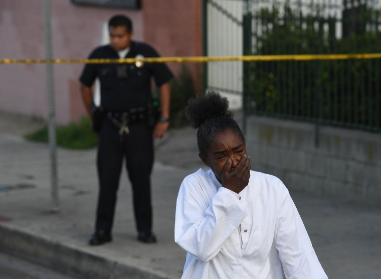 Image: US-MUSIC-RAP-SHOOTING-HOMICIDE