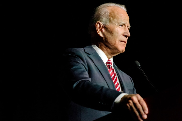 Image: Former Vice President Joe Biden speaks in Dover, Delaware, on March 16, 2019.