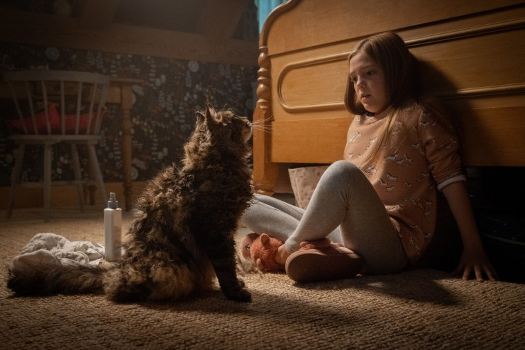 Jete Laurence as Ellie in Pet Sematary, from Paramount Pictures.
