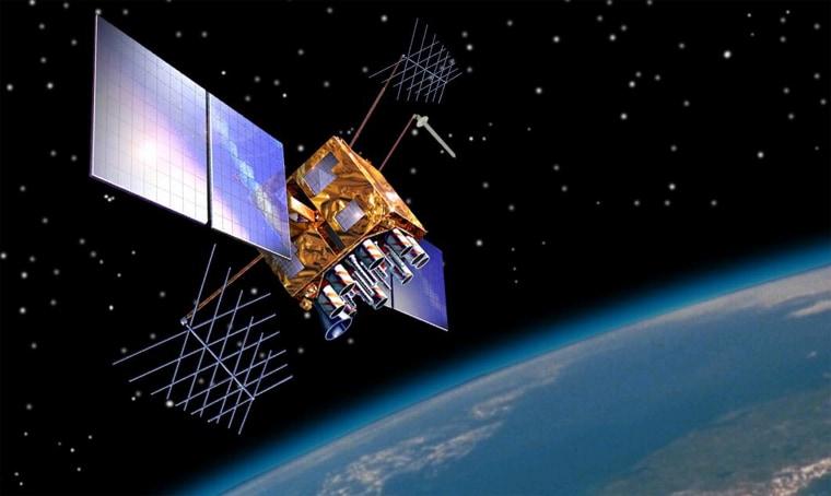 Image: GPS Block IIR(M) Satellite