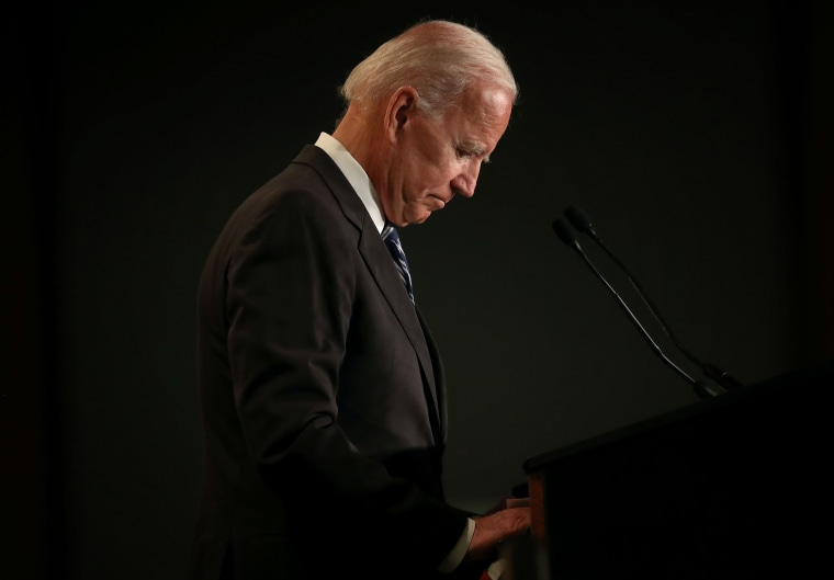 Image: Former VP Joe Biden Addresses Int'l Association Of Fire Fighters Conference