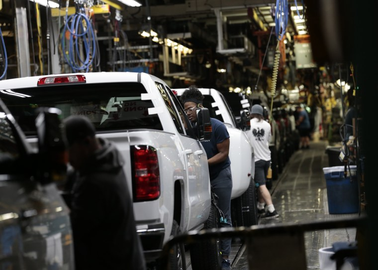 Image: GM assembly line