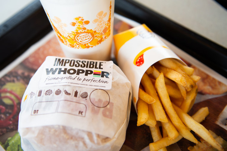 Image: Burger King Offers Meatless Whopper In Its St. Louis Locations