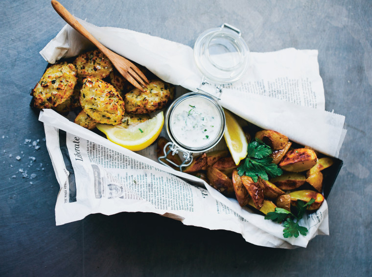 Think cauliflower is boring? You haven't tried Cauli 'Fish' and Chips