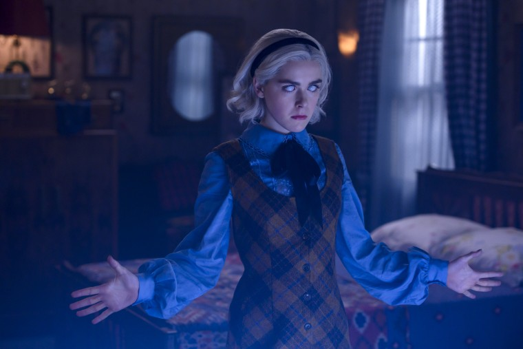 New 'Chilling Adventures of Sabrina' part two reveals as
